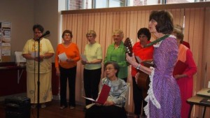 AAUW General Meeting Song Spinners